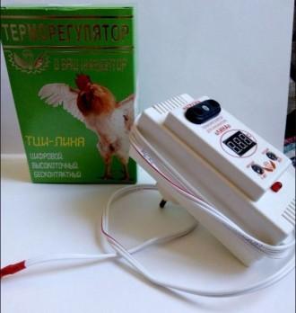 Терморегулятор для инкубатора ЛИНА 1,0Квт, ТЦИ-1000. и В+ Качественный. Киев. фото 1