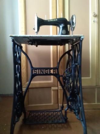 Продам ножную антикварную швейную машинку Singer 1908г. Германия. Киево-Святошинский. фото 1