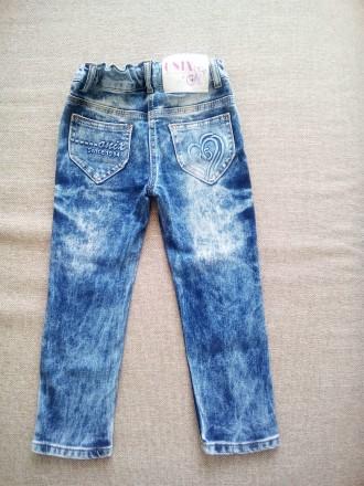 Продам гарні джинси на дівчинку, на 3- 4 роки.. Чернигов, Черниговская область. фото 3