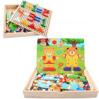 Детская игра «Гардероб» + мозаика. Киев. фото 1