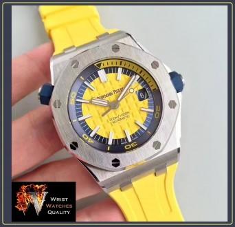 Audemars Piguet - Royal Oak Offshore DIVER Yellow 42mm. Киев. фото 1