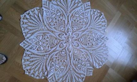 Вязані скатертини. Львов. фото 1