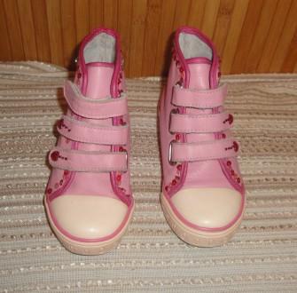 Классные ботиночки кожа р. 10. Суми. фото 1