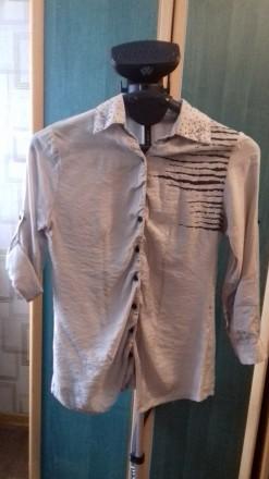 Жіноча рубашка-блуза. Кропивницкий. фото 1