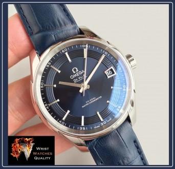 OMEGA - De Ville Hour Vision Blue Co-Axial Master Chronometer 41 mm. Киев. фото 1