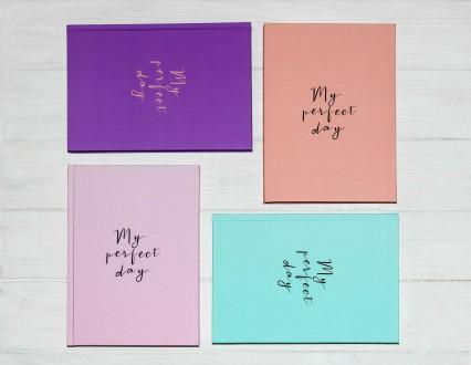 Блокнот, планер, ежедневник, щоденник, подарок, Diary My perfect day. Киев. фото 1