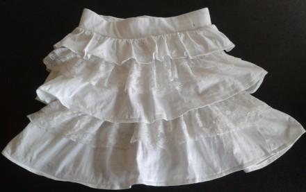 Белая юбка StBernard для девочки 9-11 лет. Київ. фото 1