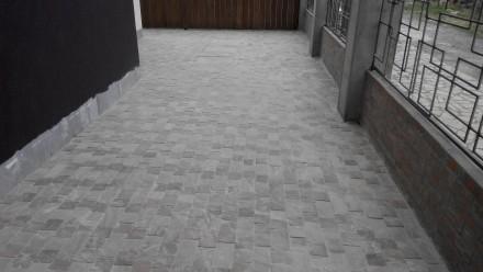 Качественная укладка тротуарной плитки под ключ. Выполняем объекты любой сложнос. Мариуполь, Донецкая область. фото 3