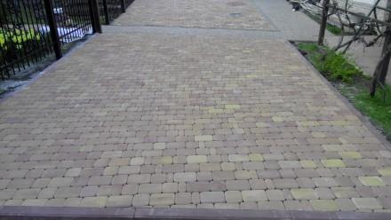 Качественная укладка тротуарной плитки под ключ. Выполняем объекты любой сложнос. Мариуполь, Донецкая область. фото 4