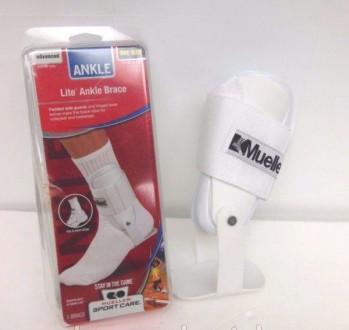 Суппорт лодыжки Mueller 4554 Ankle Brace Lite для фиксации голеностопа. Чернигов. фото 1