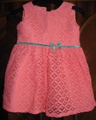 Детское платье Carters на 1 годик. Одесса. фото 1