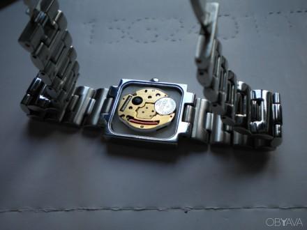 Годинник Kronos (часы Kronos). Вживаний. Кварцовий. Корпус із нержавіючої сталі.. Самбор, Львовская область. фото 3