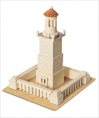 Конструктор з керамічних цеглинок (Александрійський маяк). Киев. фото 1