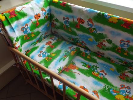 Постельное белье в детскую кроватку. Сумы. фото 1