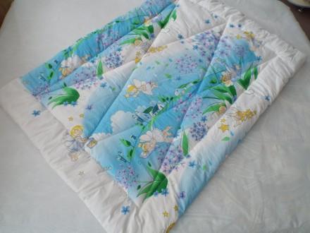Детское стеганое одеяло. Сумы. фото 1