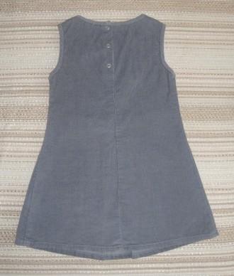 Сарафан Gloria Jeans из микровельвета, 100% хлопок. Возраст 4-5 лет, рост 110 см. Сумы, Сумская область. фото 4