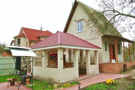 Шикарная 2-этажная дача на берегу р. Десна. Чернигов. фото 1