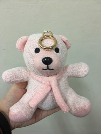 Беспроводная портативная колонка MOBEI Игрушка Мягкий мишка розовый. Киев. фото 1
