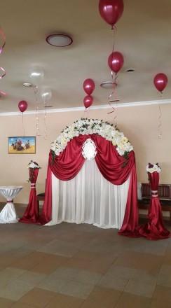 Професионально , качествено украсим ВАШУ свадьбу, юбилей, выпускной банкетный за. Фастов, Киевская область. фото 5