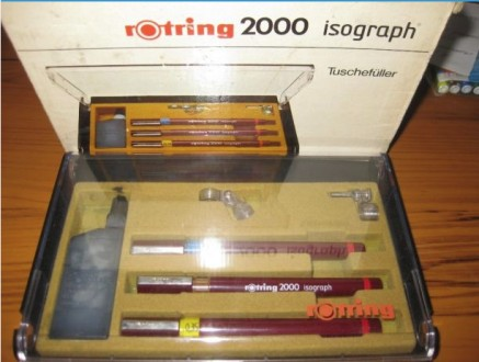 Изограф Rotring 2000-комплект 3 шт.. Запорожье. фото 1