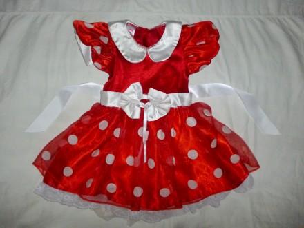 платье минни маус на 2-3 года. Кременчуг. фото 1