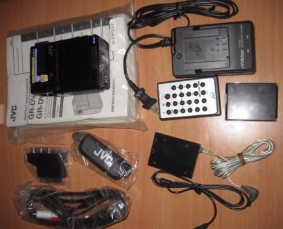 Цифровая видеокамера JVC GR-DVP7eg- новая ,в коллекцию!. Запорожье. фото 1