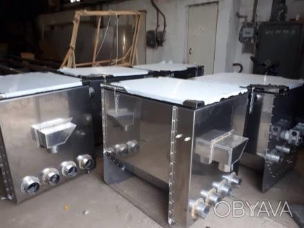 Барабанный мех фильтр на 90 м3/ч для узв , из нерж стали aisi 304-316