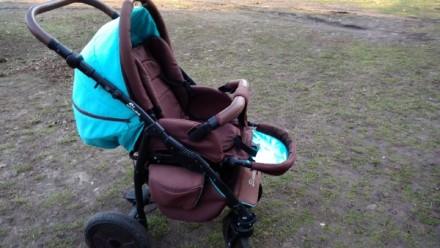 Недорого продам коляску Anex Elana 2в1!. Талалаївка. фото 1