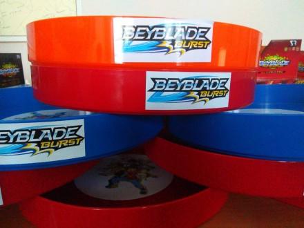 Акция Бейблейд арена 3 цвета в наличии твердый платик 3мм диаметр 35. Днепр. фото 1