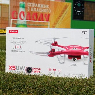 Крутий квадрокоптер Syma X5UW з WI-FI камерою (FPV). Киев. фото 1