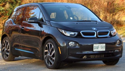 Электромобиль BMW I3 REX Black 2015. Киев. фото 1