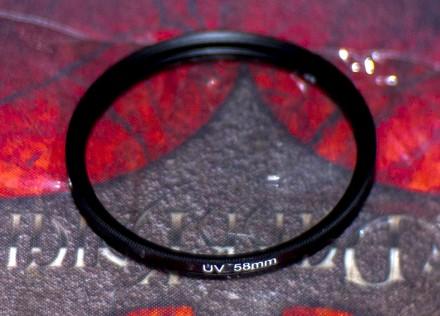 58mm UV Ультрафіолет фільтр. Запорожье. фото 1