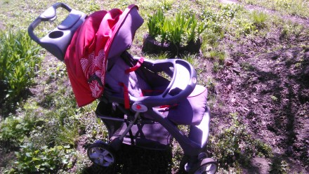Продам прогулочную детскую коляску Geoby. Днепр. фото 1