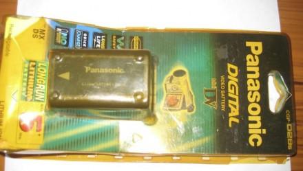 Аккумулятор для видеокамеры Panasonic CGP-D28s. Запорожье. фото 1