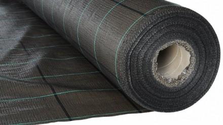 Агроткань Agrojutex 100 г/м2 4,2x100 м черная. Винница. фото 1