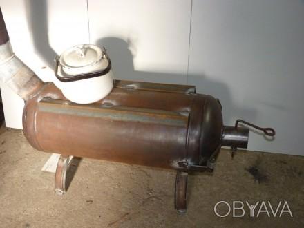печь длительного горения с варочной поверхностью работает на дровах.(одной закла. Кривой Рог, Днепропетровская область. фото 1