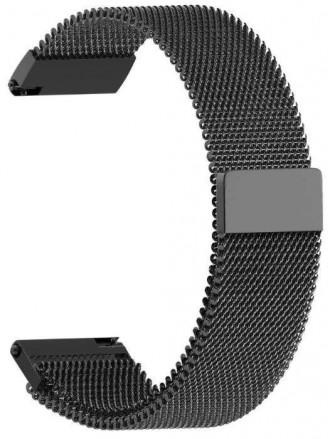 Браслет ремешок для наручных часов, плетеный, с магнитной застежкой. Херсон. фото 1