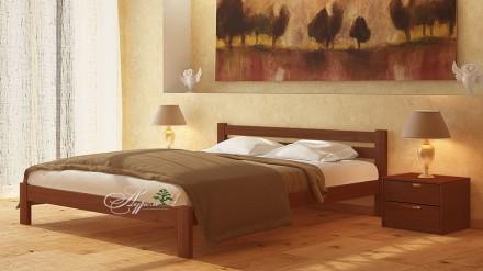 Кровать деревянная двухспальная 160х200. Херсон. фото 1