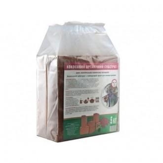 Кокосовый блок GrondMeester UNI 100% торф 5 кг. Винница. фото 1