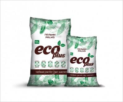 Торфяной субстрат ECO PLUS для пальм 6 л. Винница. фото 1