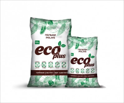 Торфяной субстрат ECO PLUS для пальм 10 л. Винница. фото 1