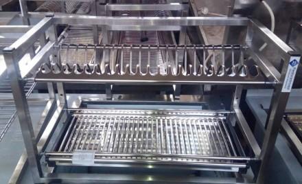 Продается полка-сушка навесная два уровня. Полка сушка для посуды (тарелки, чашк. Киев, Киевская область. фото 3