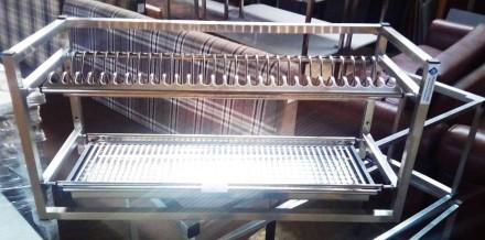 Продается полка-сушка навесная два уровня. Полка сушка для посуды (тарелки, чашк. Киев, Киевская область. фото 2