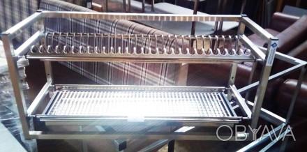 Продается полка-сушка навесная два уровня. Полка сушка для посуды (тарелки, чашк. Киев, Киевская область. фото 1