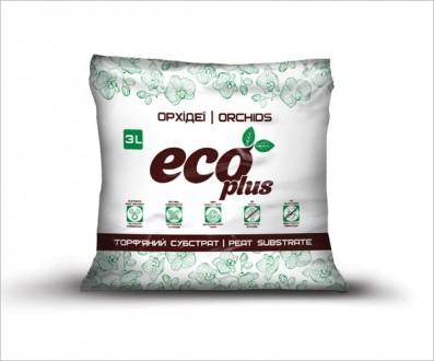 Торфяной субстрат ECO PLUS для орхидей 3 л. Винница. фото 1