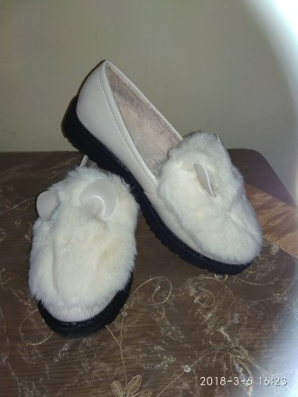 Слипоны туфли балетки меховушки ушки. Львов. фото 1