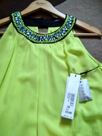 Туника-платье яркая фирменное Roman Originals. Львов. фото 1