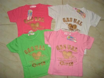 красивые футболки на лето для Ваших маленьких принцес. Харьков. фото 1