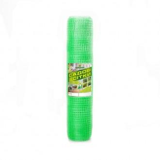 Пластиковая сетка для птиц Клевер 12х14 мм 1х100 м зеленая. Винница. фото 1