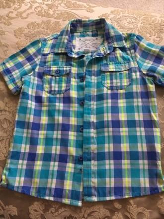 Продам рубашечку на мальчика. Боровая. фото 1